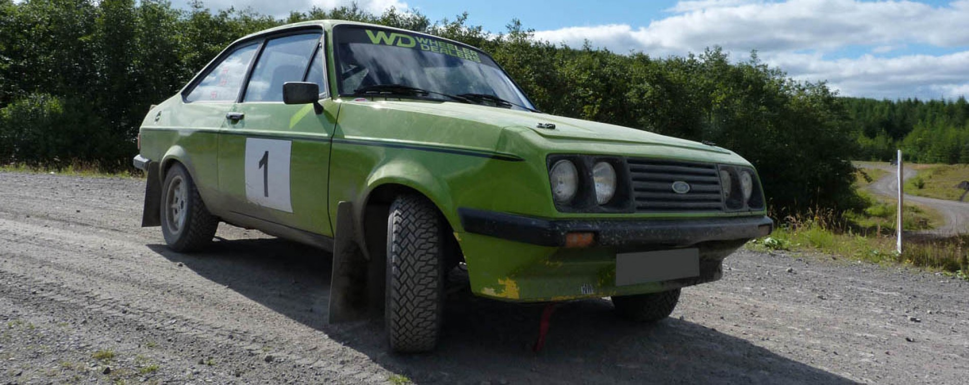 wheeler dealers ford escort rs2000 rally car